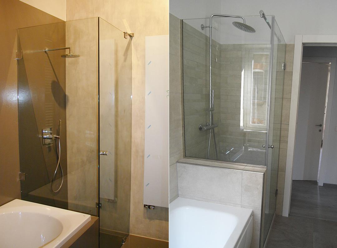 Produzione arredo bagno e top doccia top lavabo e top ripiano trasparenti retrolaccati o - Arredo bagno produzione ...
